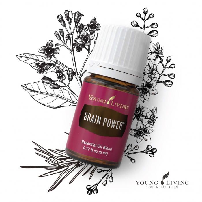 Brain Power Essential Oil Blend - Ulei esențial amestec Puterea Mintii [1]