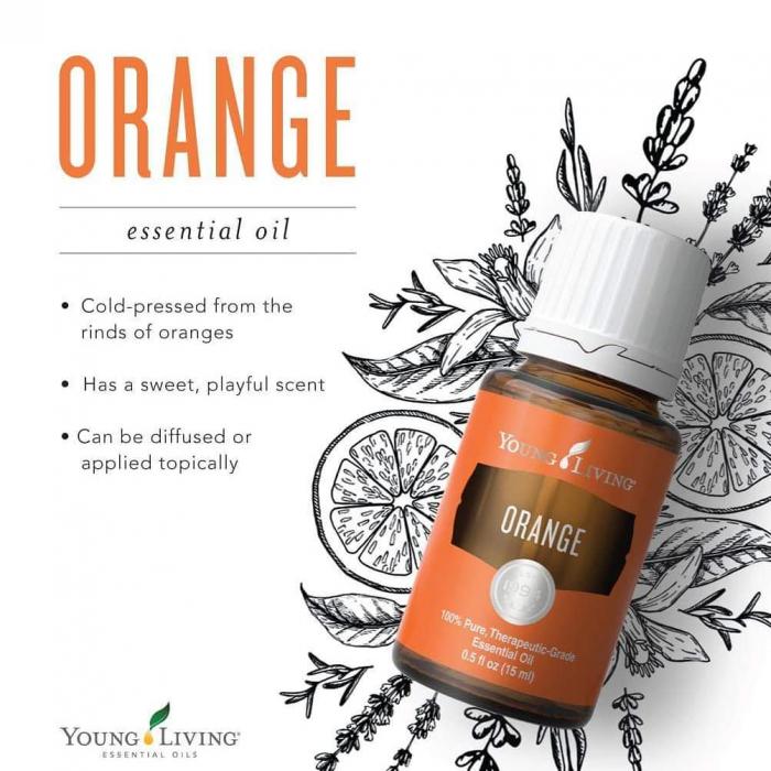 Ulei Esential Orange - Ulei Esential Portocale [1]