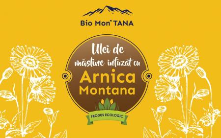 Ulei infuzat cu Arnica Montana, 50 ml, Bio MonTANA [2]