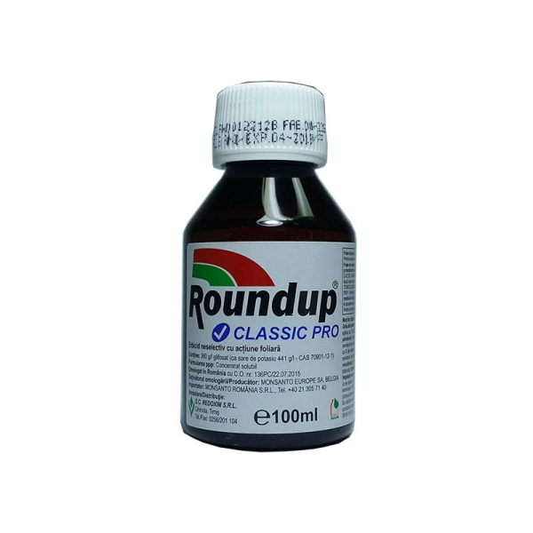 Erbicid total Round Up Clasic Pro 100 ML 0