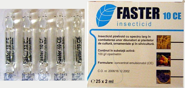 Insecticid Faster 10 CE 2 ML 0