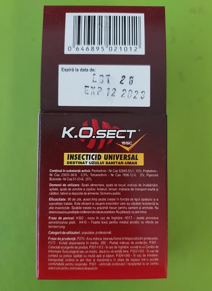 Insecticid universal K.O SECT 2x10 ml [1]