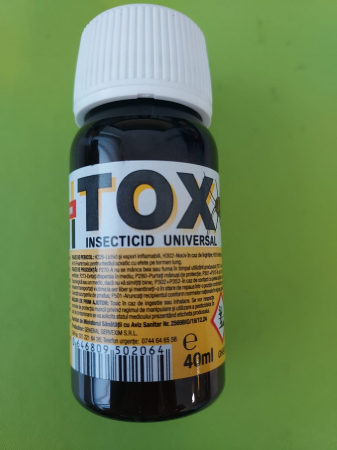 Insecticid Profesional Sanitox 21 CE 40 ML [2]