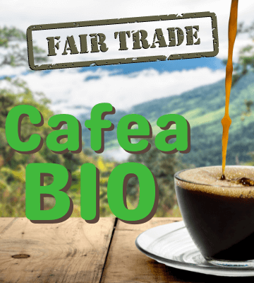 Sortimente de cafea organica