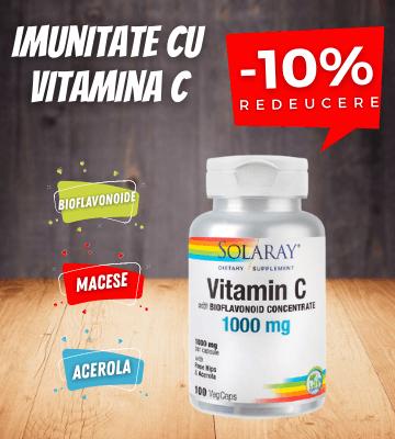 Reducere Vitamina C!