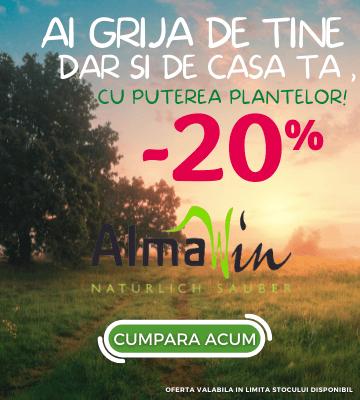 Promotie AlmaWin -20% Reducere!