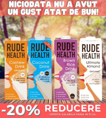 Promotie Rude Health -20%!