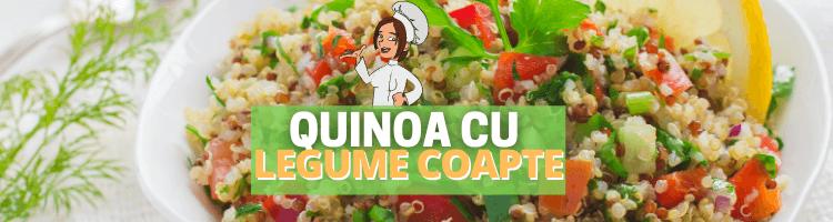 Quinoa cu legume coapte