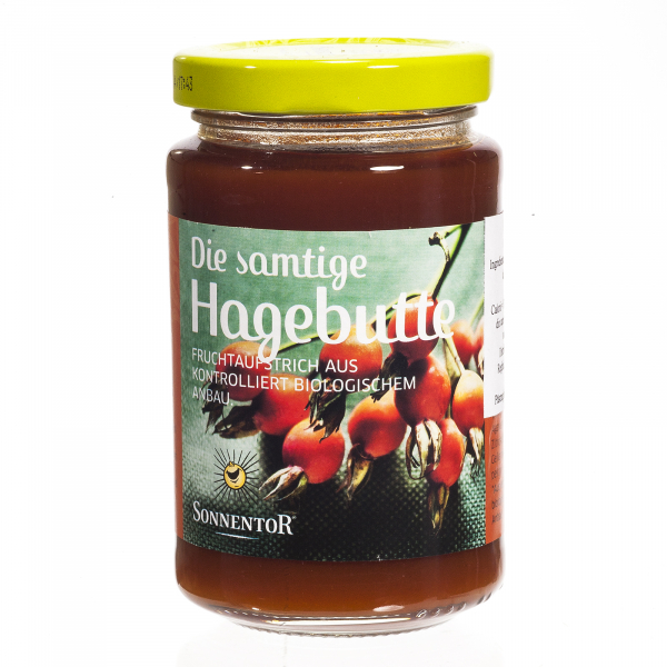 Gem de macese fără zahăr, îndulcit cu nectar de agave 250 gr 0