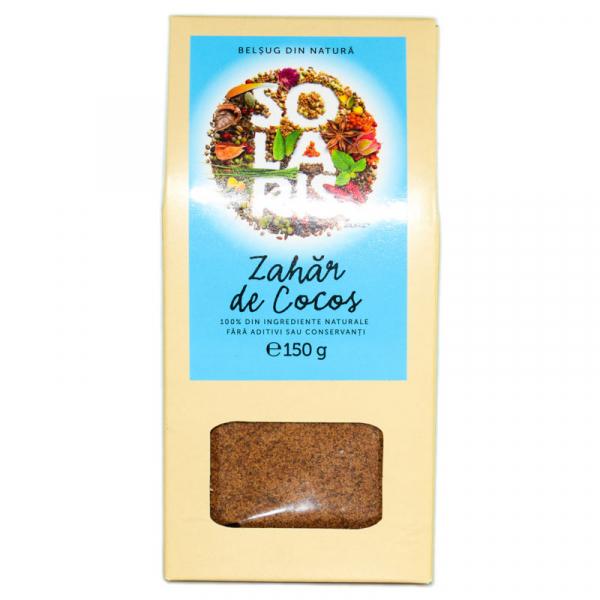 Zahar de Cocos, 150g Solaris 0
