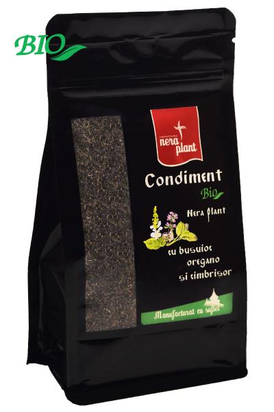 Condiment BIO cu busuioc, oregano, cimbrisor  Nera Plant 75 gr 0