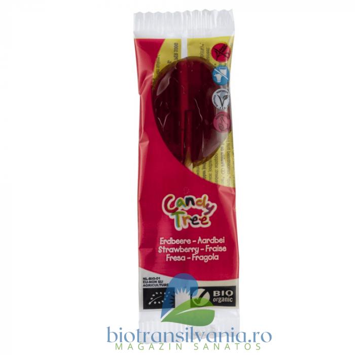 Acadea BIO cu Capsuni Fara Gluten, 13g Candy Tree [0]