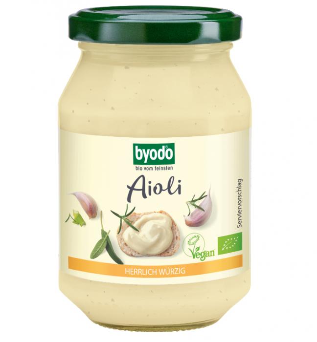 Aioli maioneza cu usturoi vegan bio [0]
