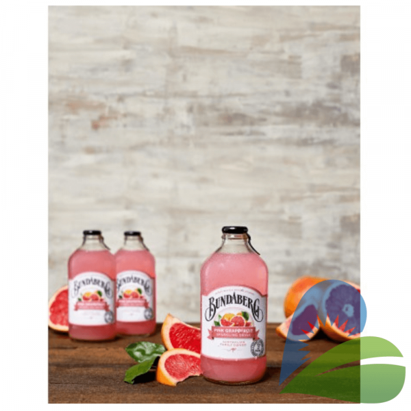 Bautura Carbogazoasa cu Suc de Grapefruit Roz, 375ml Bundaberg 1