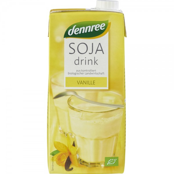 Lapte de Soia cu Vanilie BIO 1L Dennree 0