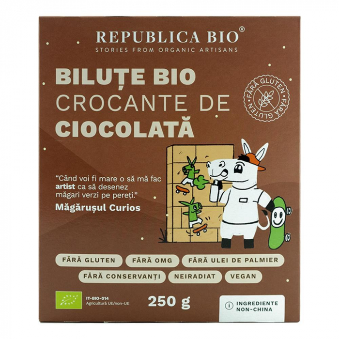 Bilute crocante de ciocolata FARA GLUTEN [0]