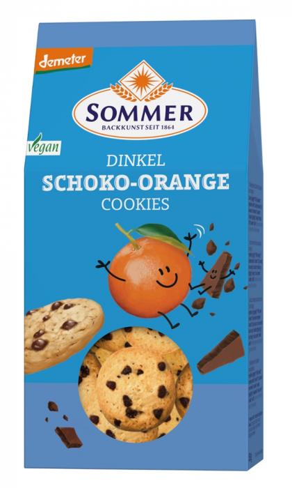 Biscuiti din spelta cu ciocolata si portocale [0]