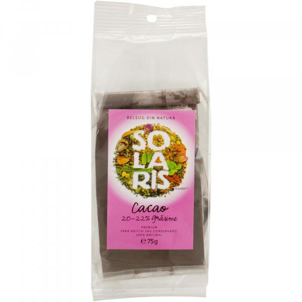 Cacao 20-22% Premium, 75g Solaris 0