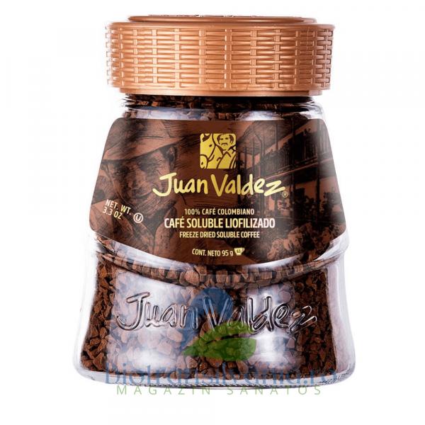 Cafea Solubila Liofilizata Clasica 95g Juan Valdez 0