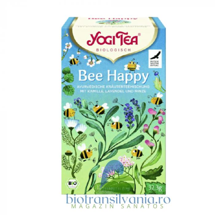 Ceai BIO Bee Happy, 32.3g Yogi Tea 0