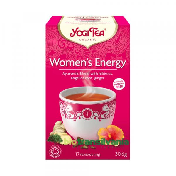 Ceai BIO Energie pentru Femei, 30.6G Yogi Tea 0