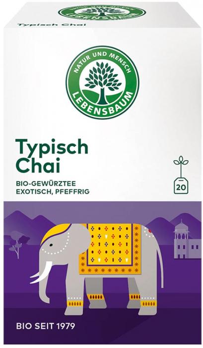 Ceai bio tipic Chai x20 plicuri [0]