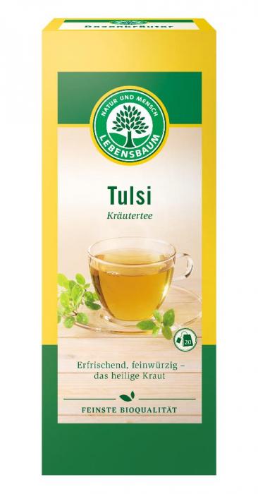 Ceai bio Tulsi Busuioc Indian [0]