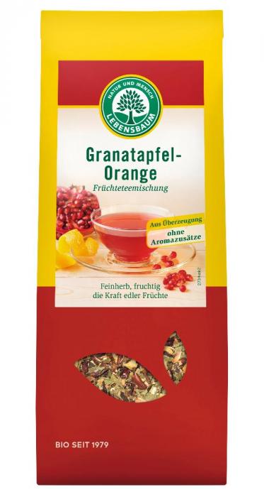 Ceai cu rodie si portocala ecologic [0]