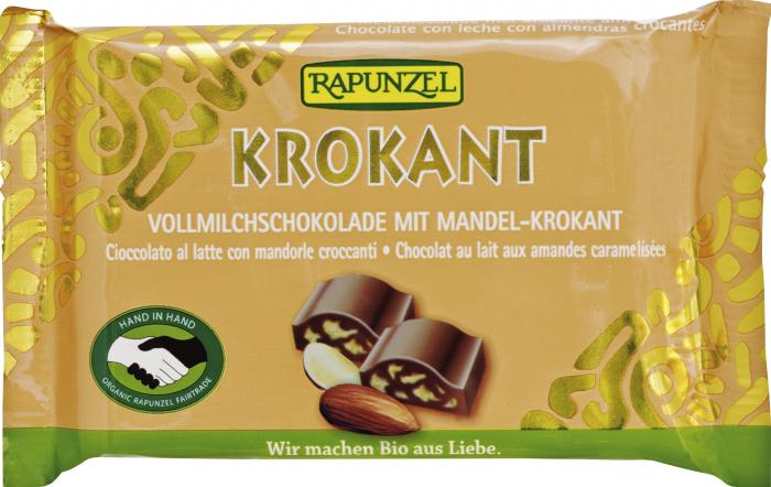 Ciocolată Bio Cristallino cu migdale crocante HIH [0]