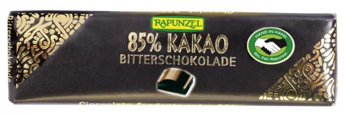 Ciocolata bio amăruie mică 85% cacao HIH [0]