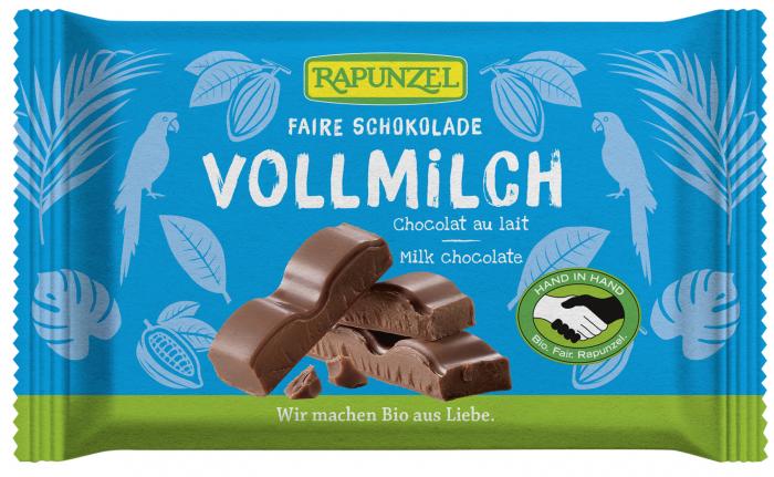 Ciocolata Bio Cristallino cu lapte integral HIH [0]