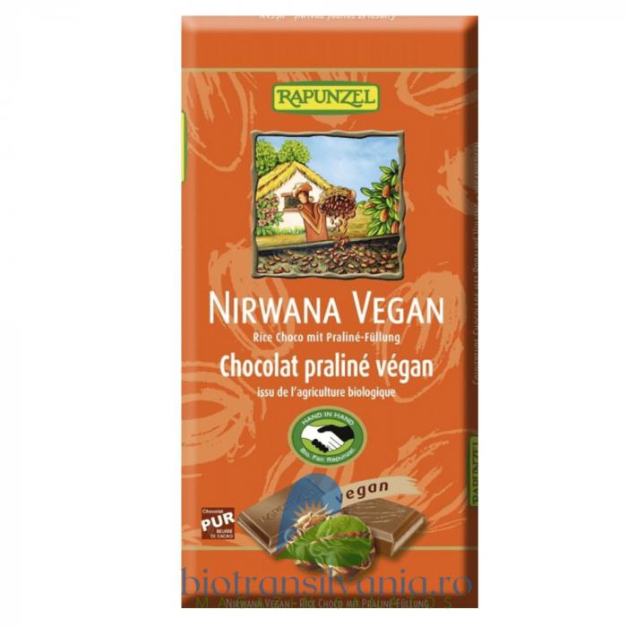 Ciocolata BIO Nirwana Vegana, 100g Rapunzel [0]