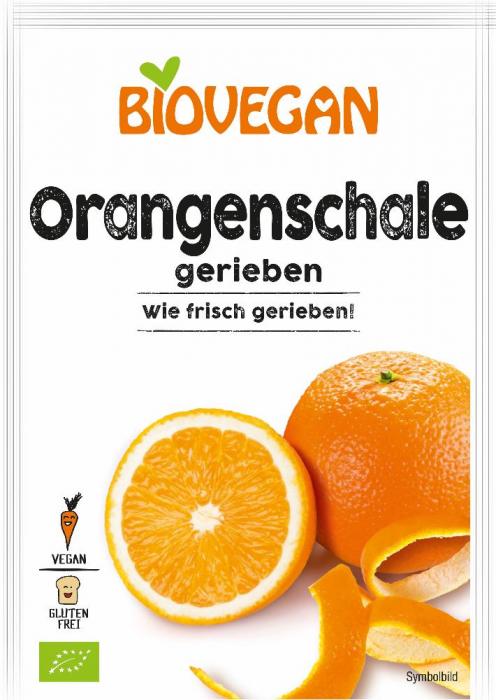 Coaja de portocala rasa bio [0]