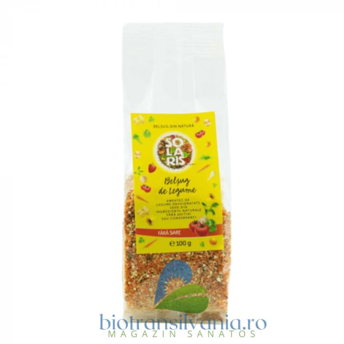 Condiment Belsug de Legume Fara Sare, 100g (punga) Solaris 0