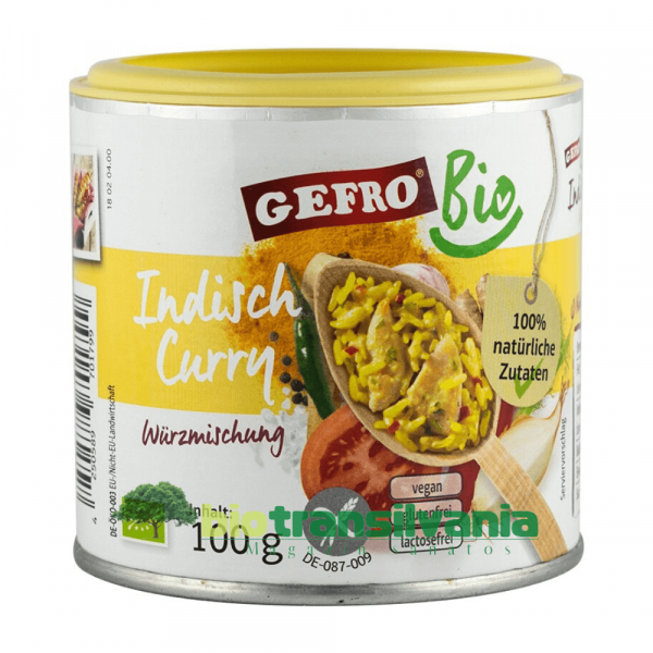 Condiment BIO Indian Style 100g Gefro 0