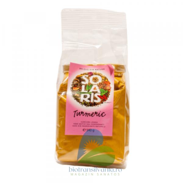 Condiment turmeric macinat 140g Solaris 0