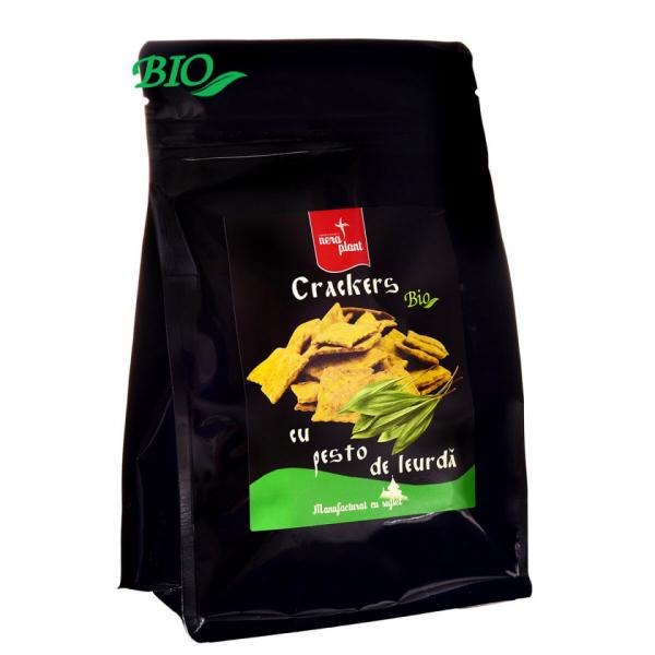 Crackers cu pesto si leurda BIO Nera Plant 0