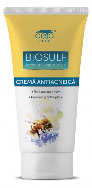 Crema antiacneica cu biosulf 50 ml 0