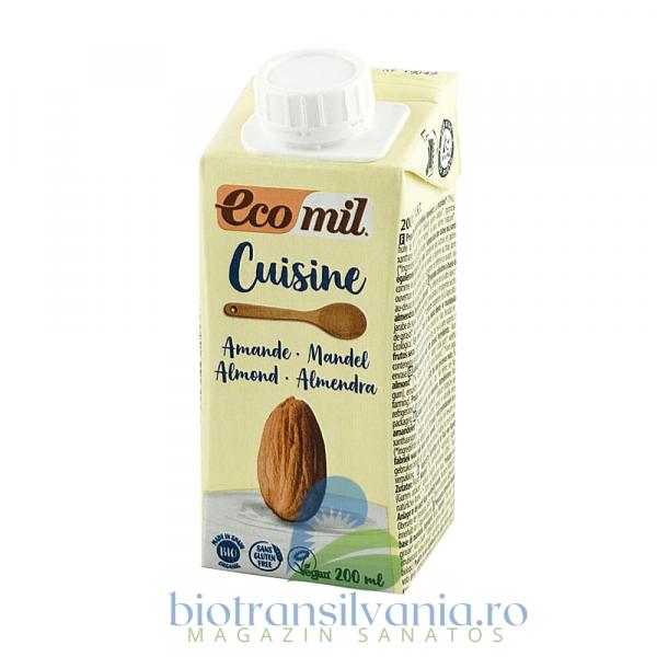 Crema Eco Vegetala pentru Gatit din Migdale, 200ml Ecomil Cuisine [0]