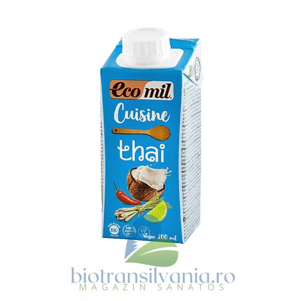 Crema Eco Vegetala pentru Gatit Thai, 200ml Ecomil Cuisine 0
