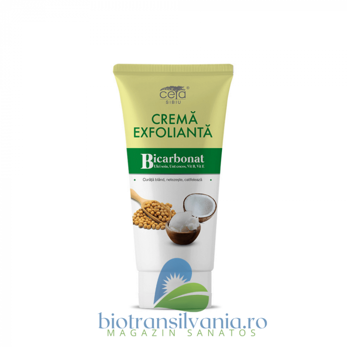 Crema Exfolianta cu Bicarbonat, 50ml Ceta Sibiu 0