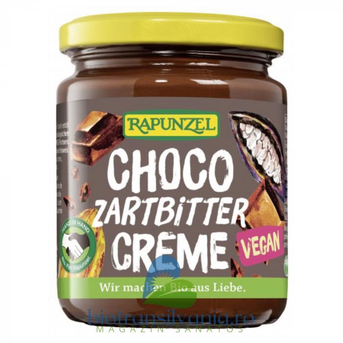 Crema cu Ciocolata Amaruie Vegana 250g Rapunzel [0]