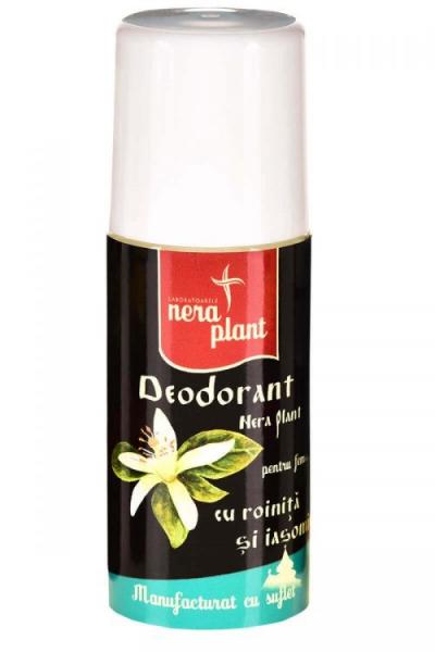 Deodorant cu Roinita si Iasomie-50ml Nera Plant 0