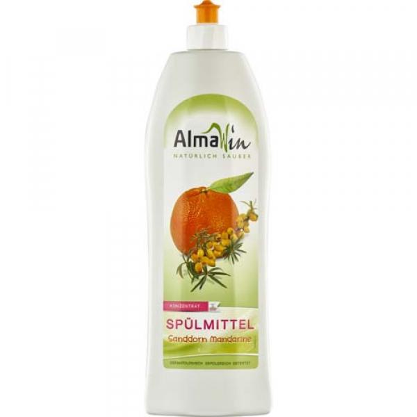 Detergent de vase concentrat cu catina si mandarine 1L AlmaWin 0