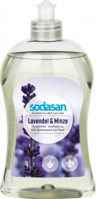 Detergent de vase lichid cu lavanda si menta [0]