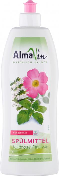 Detergent de vase organic cu trandafir salbatic si melisa [0]