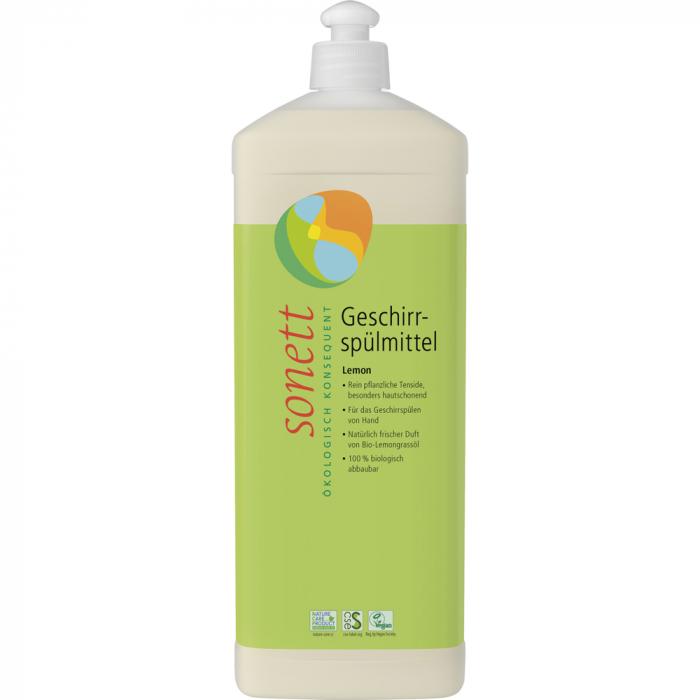 Detergent ecologic pentru spalat vase cu lamaie bio [0]