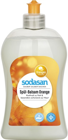 Detergent lichid de vase balsam cu portocala [0]