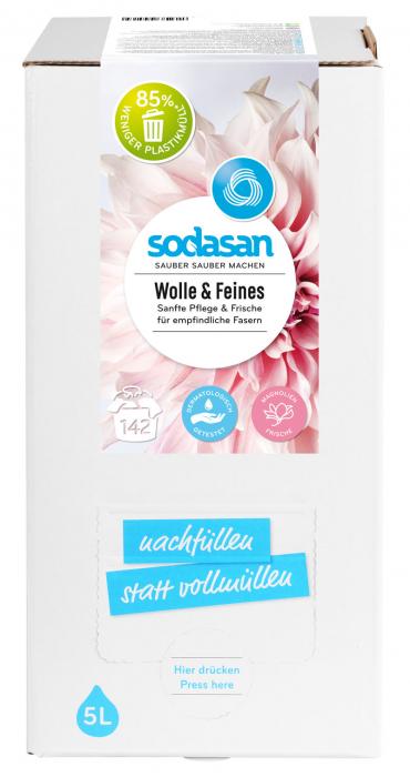 Detergent lichid pentru lana si rufe delicate Bag-in-Box 2 [0]