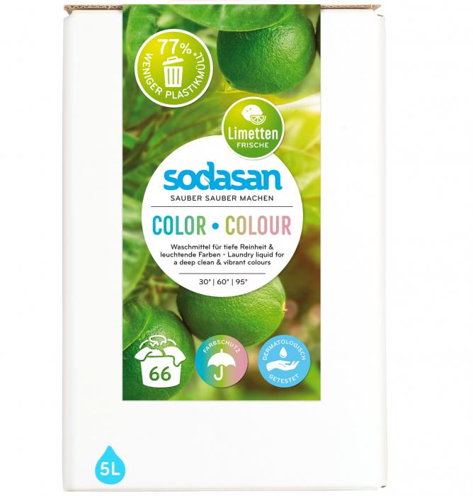 Detergent lichid pentru rufe colorate bag-in-box [0]